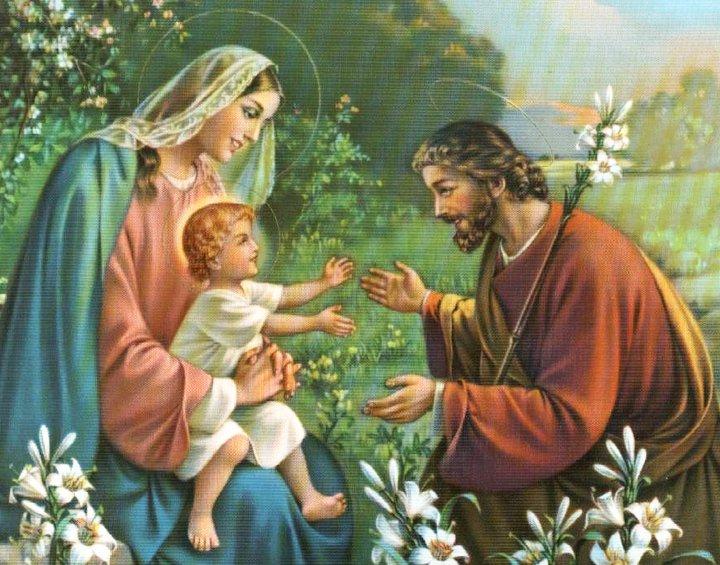 AMOR ETERNO: Fiesta Sagrada Familia de Nazareth: Jesús ...