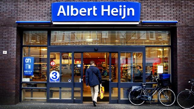 Supermercado Albert Heijn em Amsterdã
