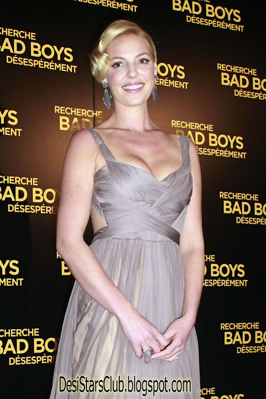 Katherine Heigl At The Premiere Of One For The Money