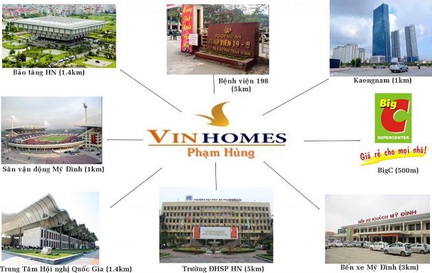Liên kết vùng tại chung cư Vinhomes Sky Lake Phạm Hùng