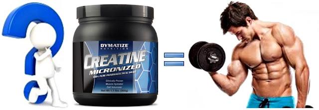 Creatina suplemento dymatize masa muscular