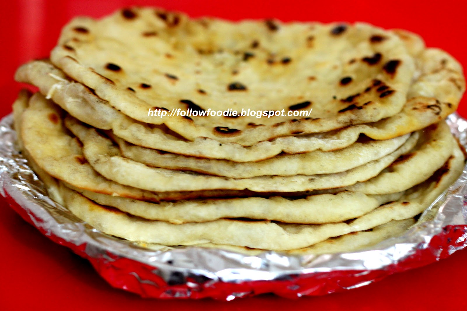 Follow Foodie Naan Recipe Butter Naan Step By Step