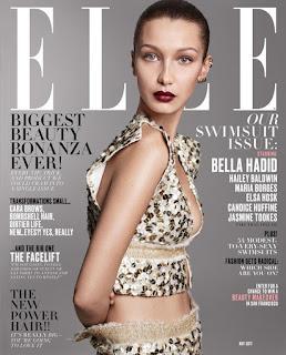 ベラ・ハディッド、「ELLE US」5月号のカバーガールに登場! ~海外セレブファッション情報~