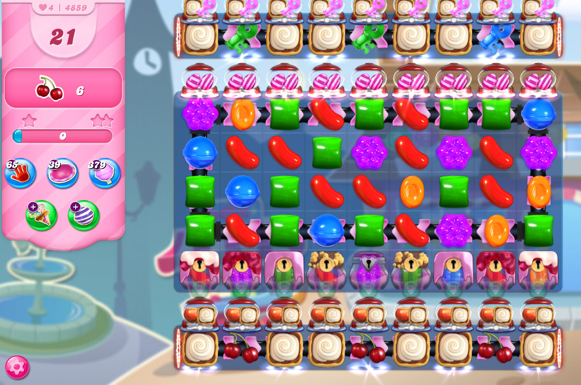 Candy Crush Saga level 4859