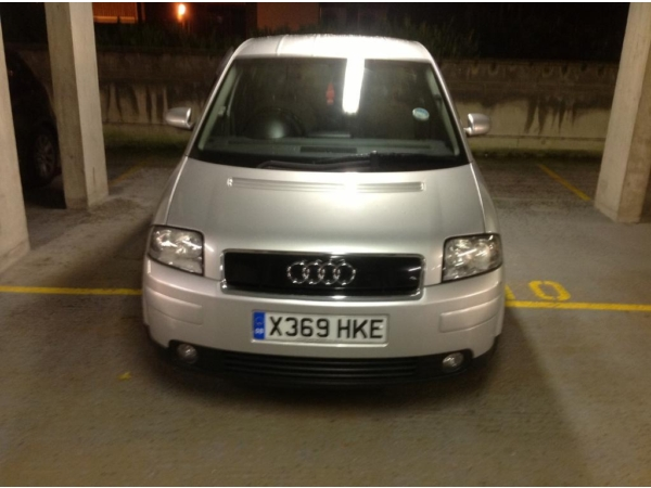 Autovalley Audi A2 1 4 Hatchback Manual Petrol Silver border=