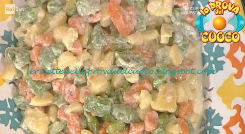 Gnocchi colorati al taleggio ricetta Moroni da Prova del Cuoco
