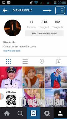 Menghubungkan Akun Instagram Dengan Facebook