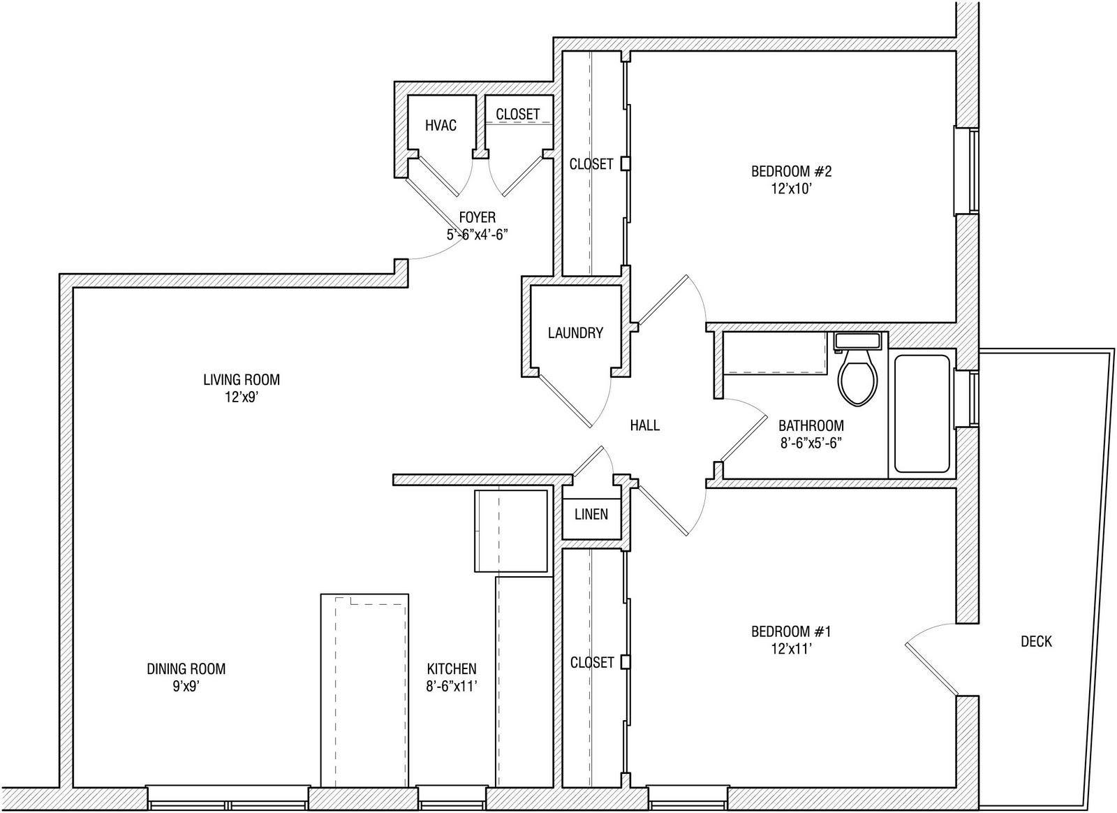 Open Studio Floor Plan