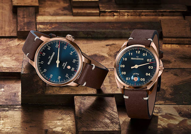 MeisterSinger Brenzd No.03 and Metris Bronze
