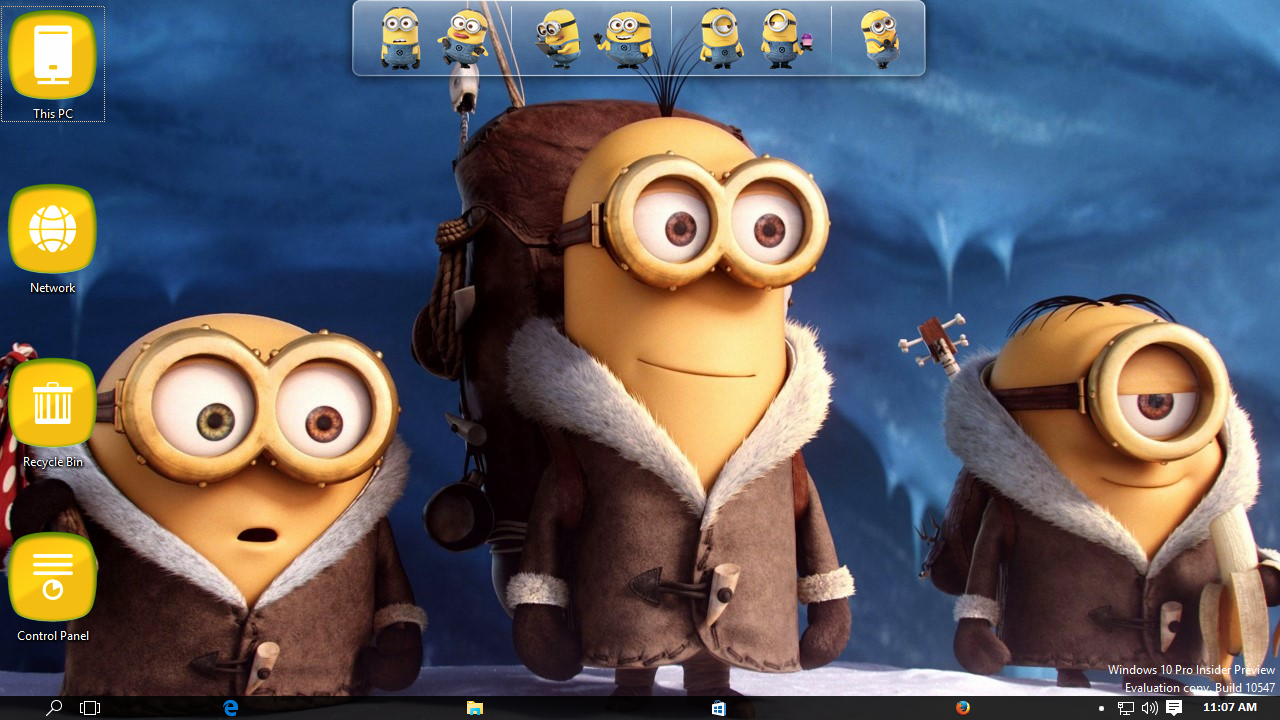 Minions Transformation Pack for Windows 7 / 8 / 8.1 / 10