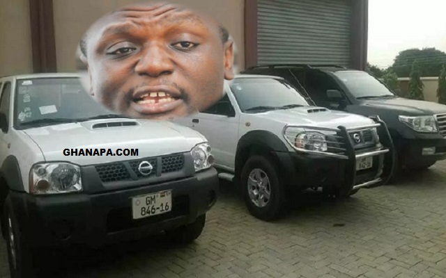 Kofi Adams vehicles are not for the State – Police confirms