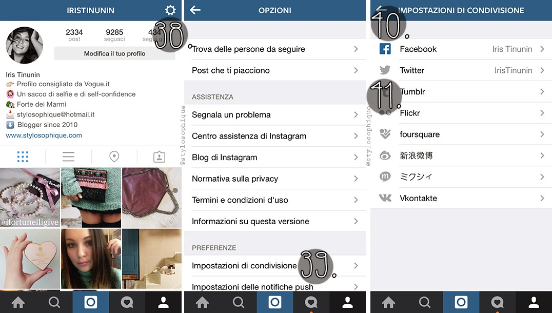 Conosciuto Come usare BENE Instagram (v6.4.3) - Stylosophique - il Blog di  WS91
