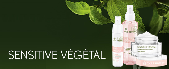 J'ai testé la gamme Sensitive végétal de Yves Rocher