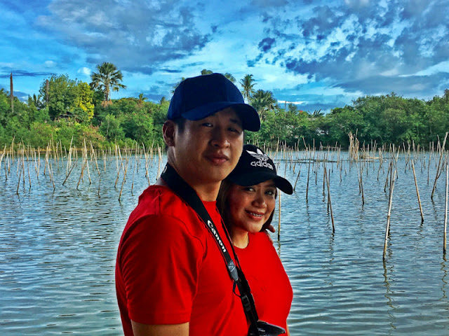 Prenuptial pictorial at Co Jordan Bangus and Talaba Eatery/Fishing Lagoon