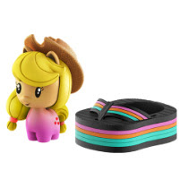MLP Blind Bags, Confetti  Applejack Pony Cutie Mark Crew Figure