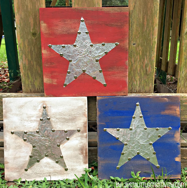 http://www.aglimpseinsideblog.com/2016/06/diy-metal-and-wood-patriotic-stars-4th.html
