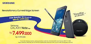 Promo 2017 Samsung Note Edge Berhadiah Speaker HK Omni 10