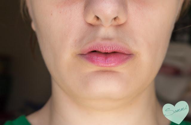 Birchbox: The Lip Sync Kit Review - IPKN Twinkle Lips in Glow Pink Swatch