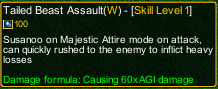 naruto castle defense 6.3 Madara Tailed Beast Assault detail