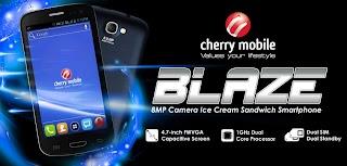 Cherry Mobile Blaze Specs Price for P6499 Announced