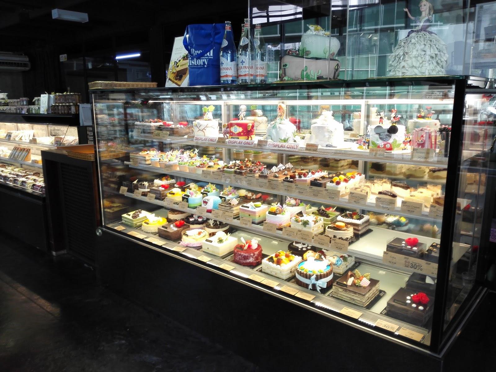 Bread History Bakery Cafe Setia Spice Canopy