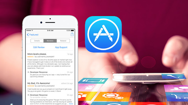 Apple Store: Developers respond to app reviews
