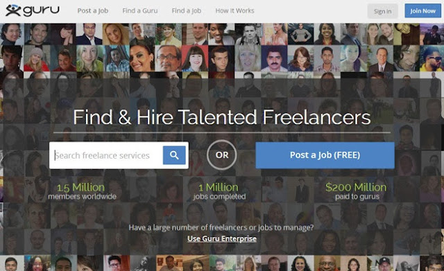 Guru Lowongan Kerja Online Freelancer