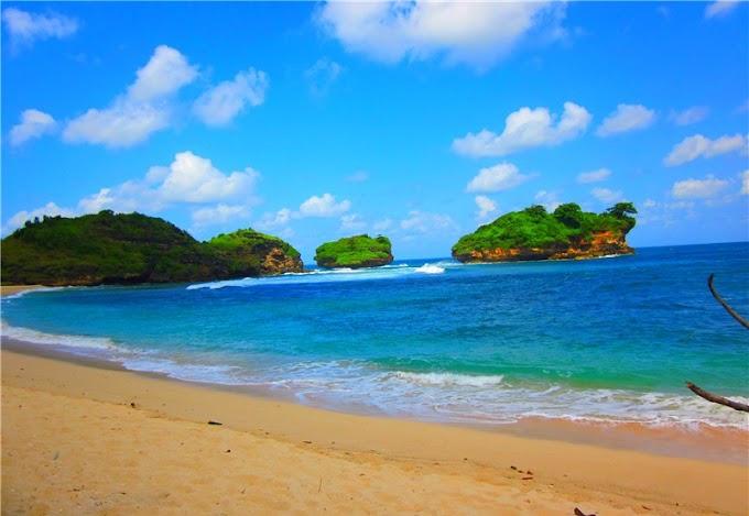 123+ Wisata Pacitan,,  Pantai Watu Karung Pacitan Jawa Timur