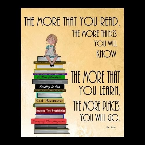The More That You Read...
