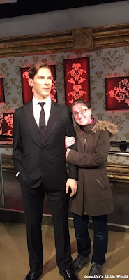 Benedict Cumberbatch at Madame Tussauds