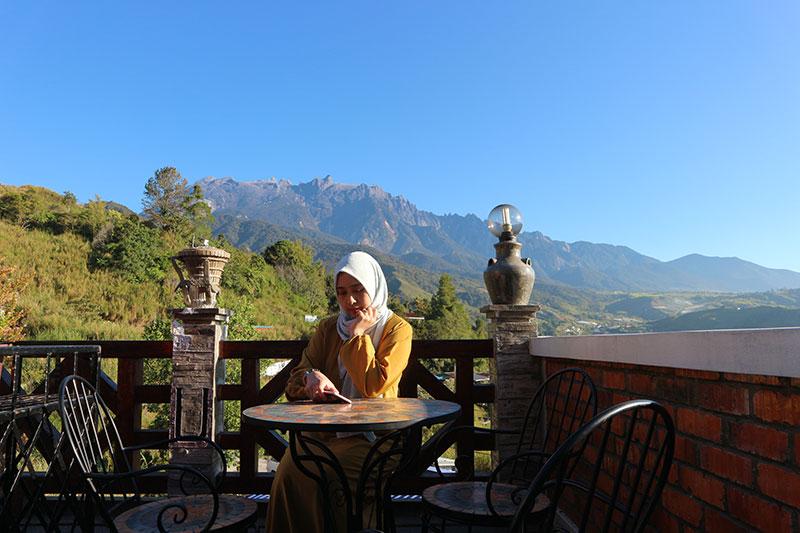 bercuti di sabah Sarapan di Puteri Nabalu Kundasang
