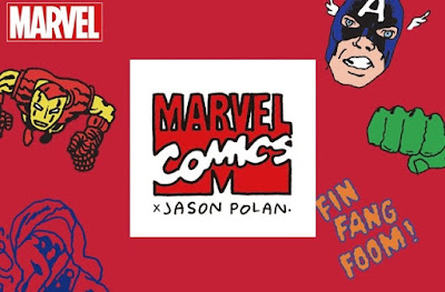 Marvel Comics T-Shirt Collection by Jason Polan x UNIQLO