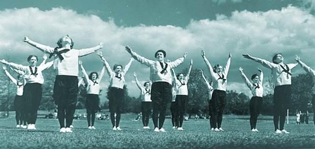 Competencia atlética en la antigüedad mujeres