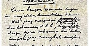 Teks Proklamasi Kemerdekaan Indonesia 17 Agustus 1945 Lengkap Web Keren Tips Trik Android Fotografi Blogger Adsense