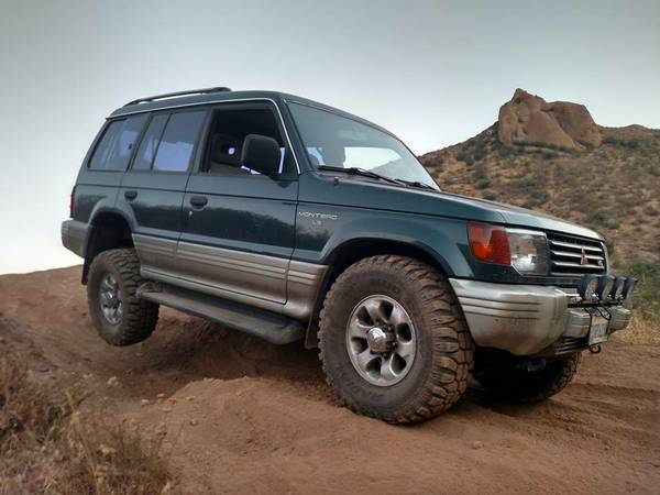 1996 Mitsubishi Montero LS 4X4 For Sale