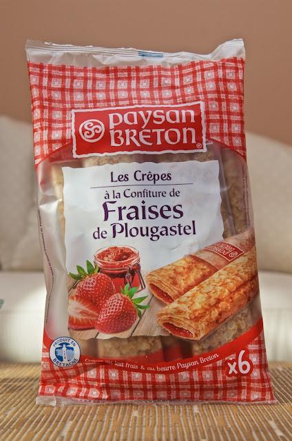 Crêpes Fourrées à la Confiture de Fraises de Plougastel - Paysan Breton - Dessert - Crêpe - Goûter - Dessert - Bretagne - Fraise