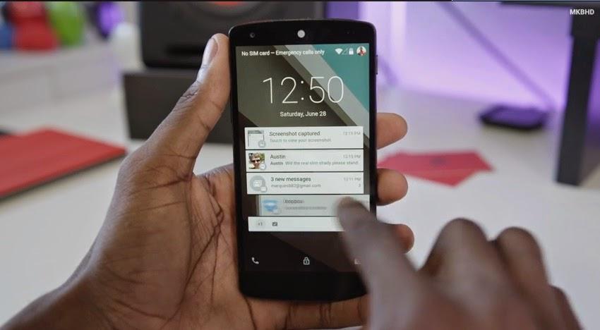 5 Keunggulan Android L - Android Versi Terbaru