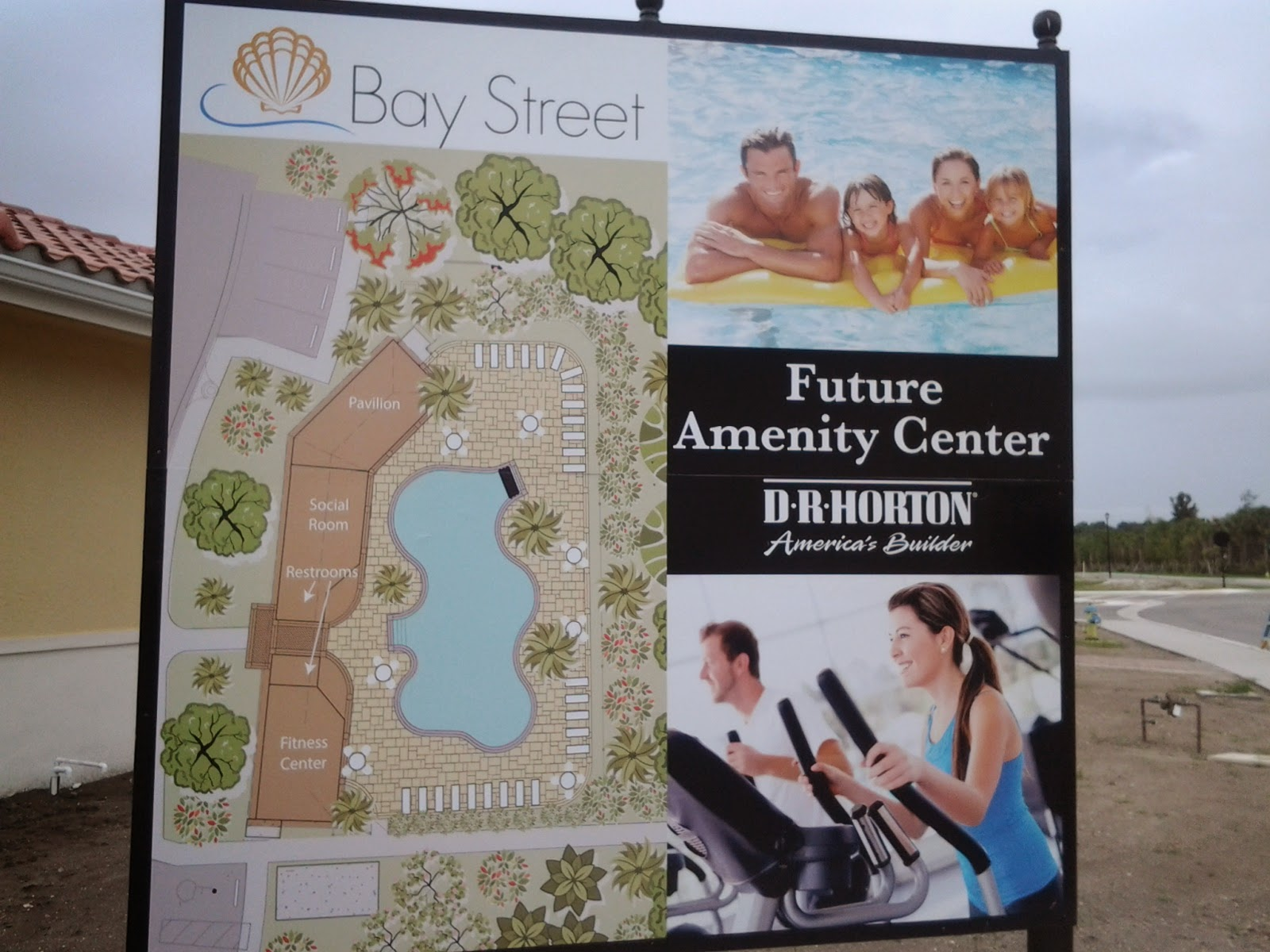 Bay Street amenities map