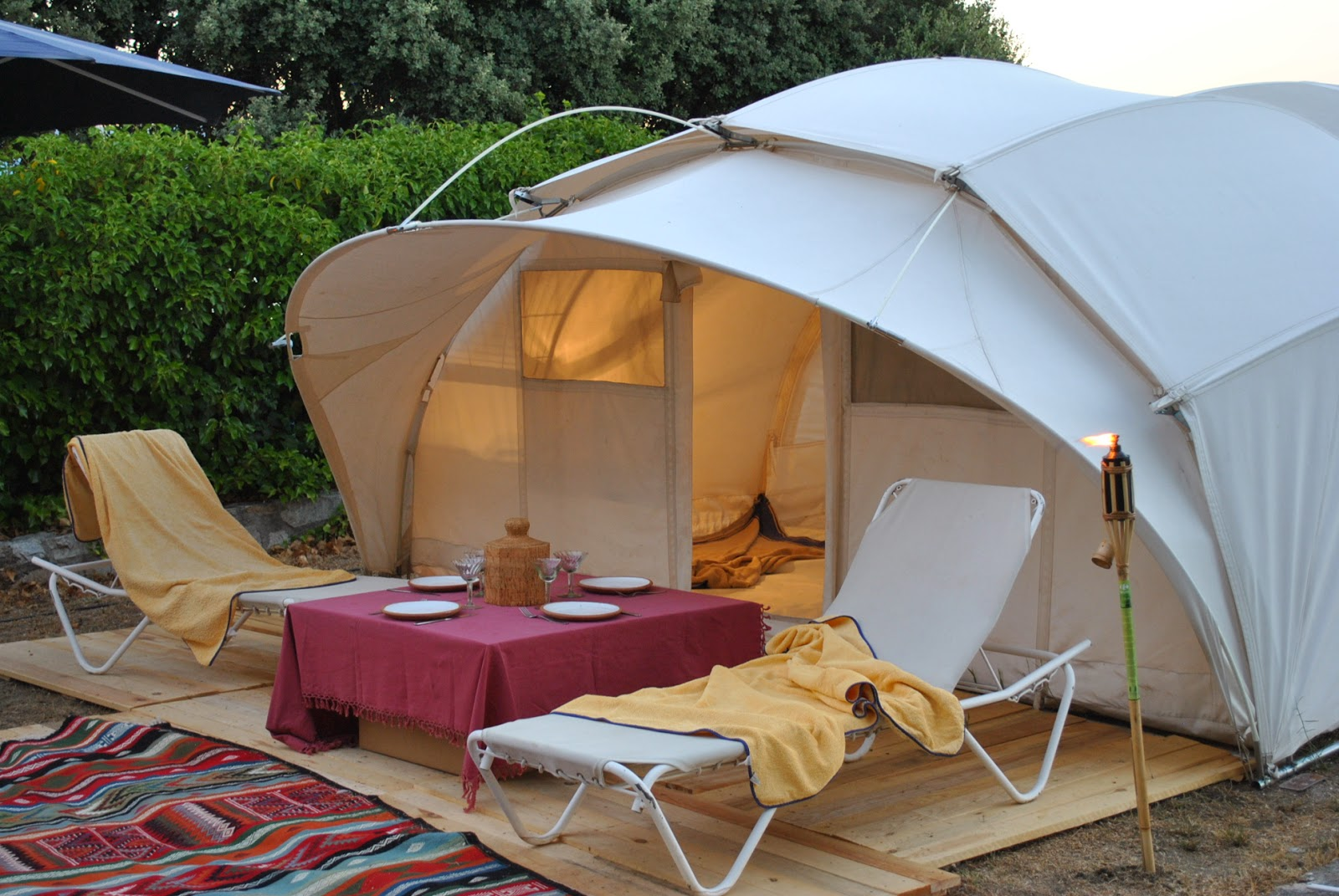 Brakfast glamping Ctents Luxury tents for Resorts and Hotels