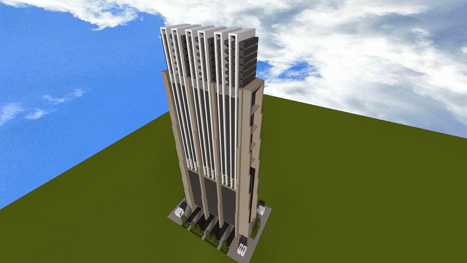 Modernes Hochhaus Minecraft Game