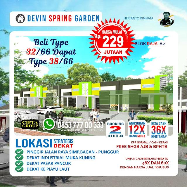 Perumahan Devin Spring Garden