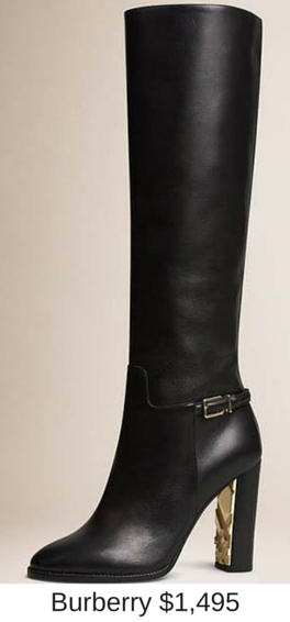 Sydney Fashion Hunter - These Boots Are Made For Walking - Burberry