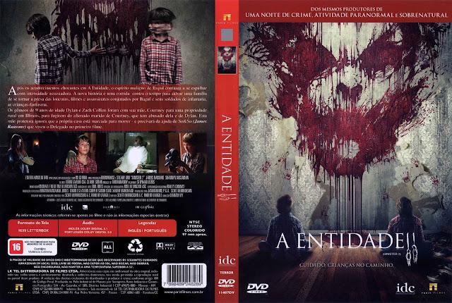 Capa DVD A Entidade II