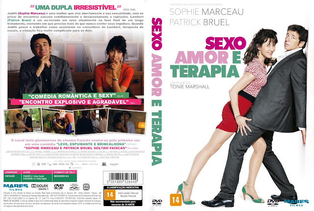 Capa DVD Sexo, Amor e Terapia [Exclusiva]