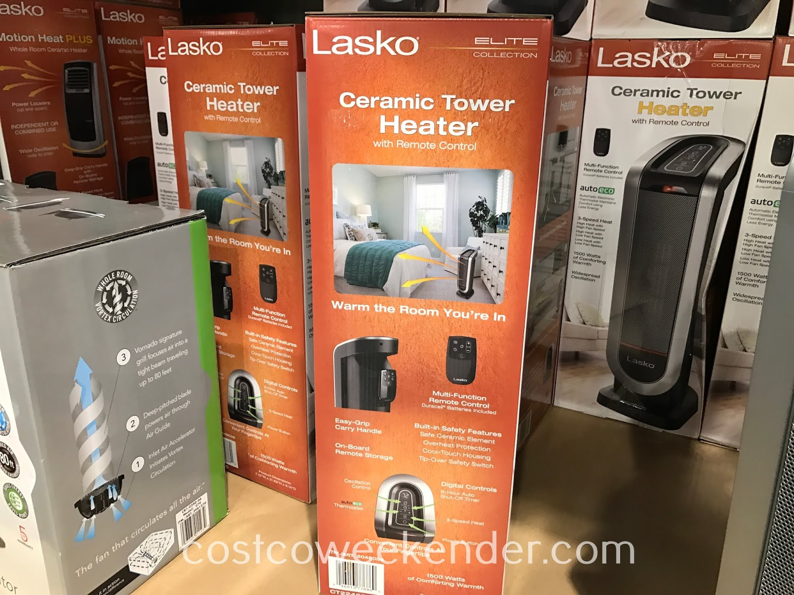 Costco 2048058 - Warm the room you're in with the Lasko Ceramic Tower Heater
