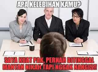 14 Meme Lucu Tentang Wawancara Kerja