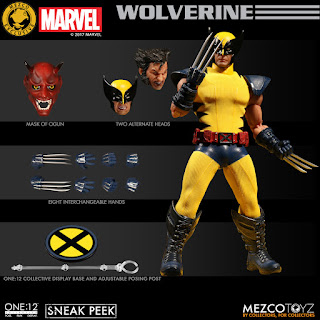 One:12 Exclusive Wolverine - Mezco