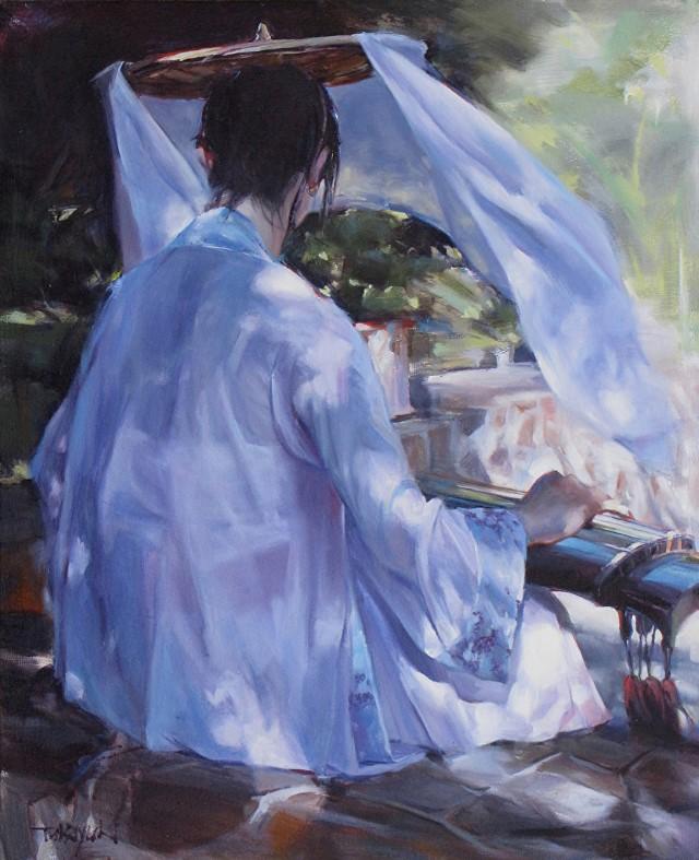 Живопись маслом. Takayuki Harada