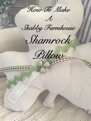How to sew a Shamrock Pillow
