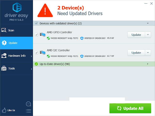 Giveaway: Driver Easy Pro - Free Version